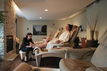 Pampering at The Osthoff Resort