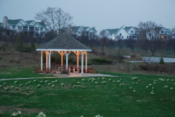 Gazebo at Newport Resort.