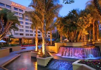 Exterior view of Long Beach Marriott.