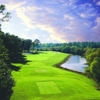 Golf course at Sea Trail Resort.