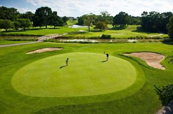 Golf course at Eaglewood Resort & Spa.