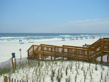 Boardwalk to the beach at Newman-Dailey Resort Properties, Inc.