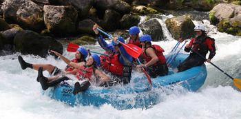 White Water Rafting at  Carson Ridge Cabins