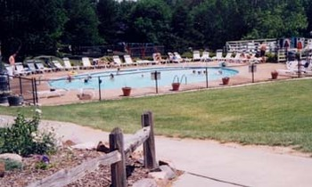Outdoor Swimming Pool at Sand County Service Company