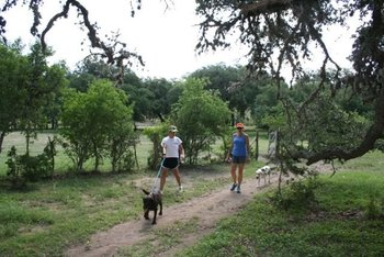 Hiking at West 1077 Guest Ranch.