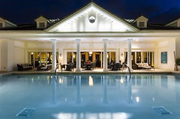 Outdoor pool at Reunion Vacation Homes.