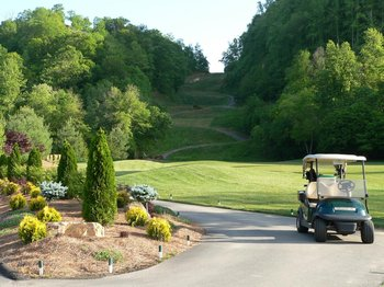 Golfing at Smoky Mountain Country Club