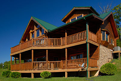 Sevierville vacation rentals cabin heavenly heights 5 for Heavenly cabin rentals