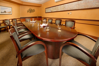 Meeting room at The Tolovana Inn.
