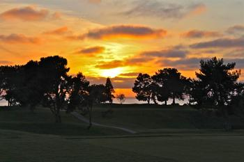Beautiful Sunset at The Lodge at Torrey Pines
