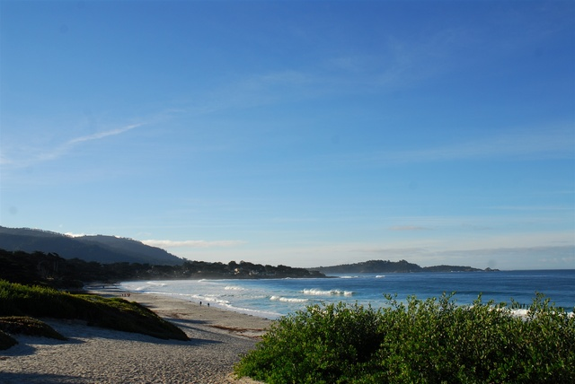 Beautiful beaches near Carmel Lodge.