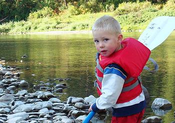 Fishing at Montana River Lodge.