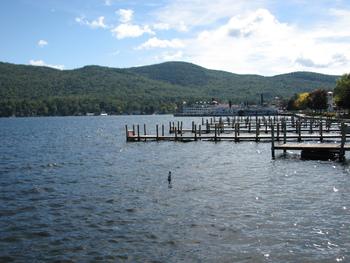 Lake George near English Brook Cottages.