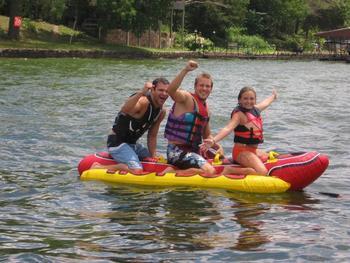 Water activities at Sunset Inn Resort.