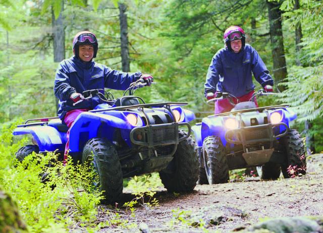 ATV at Valhalla Resort & Vacation.