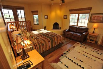 Anasazi Penthouse Suite at Inn on La Loma Plaza.