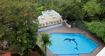 Exterior view of Swiss Residence Hotel - Kandy.