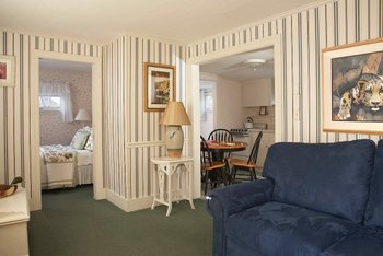 Guest room interior at Maine Stay Inn & Cottages.