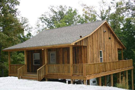 Dryden bay campground cabin rental eddyville ky for Kentucky cabins rentals