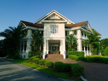 Exterior view of Carcosa Seri Negara.