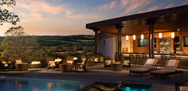 Outdoor pool at La Cantera Hill Country Resort.