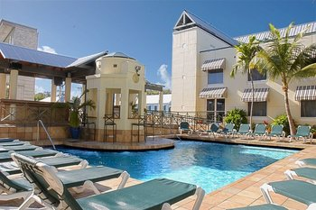 Outdoor pool at Crowne Plaza Key West La Concha.