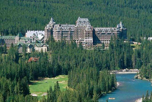 The Fairmont Banff Springs Banff Alberta Resort