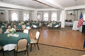 Conference room at The Ashley Inn.
