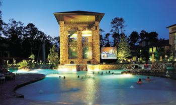 Outdoor pool at The Woodlands Resort & Conference Center.