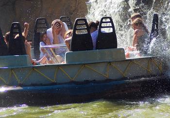 Water rides at Cedar Point Resort.