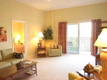 Suite living room at Madeira Bay Resort.