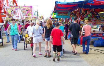 Florida Strawberry festival near Gulf Strand Resort.