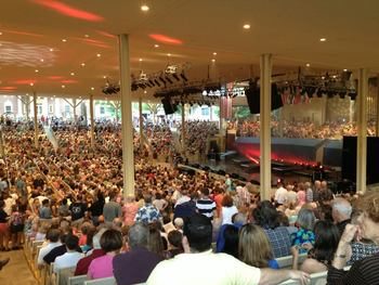 Amphitheater at Chautauqua Institution.