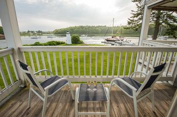 Deck view at The Nonantum Resort.