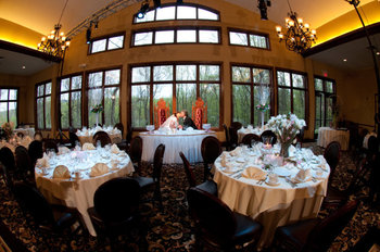 Ridgecrest ballroom at Stroudsmoor Country Inn.