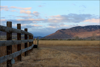 Scenic views at Rand Creek Ranch.
