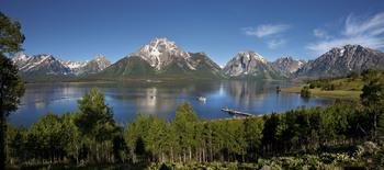 Lake cruises at Jackson Lake Lodge.