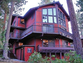 Vacation rental exterior at Tahoe Management Co.