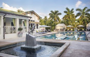 Outdoor pool at Cheeca Lodge & Spa.
