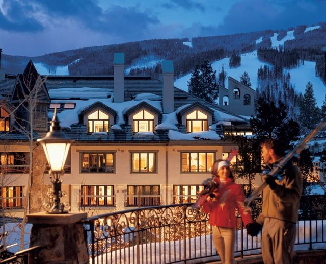 Exterior view of The Pines Lodge, A Rock Resort.