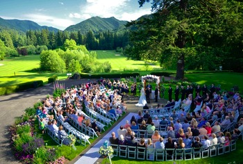 Outdoor Wedding at The Resort at the Mountain