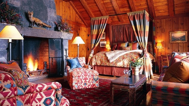 Guest room at The Point.