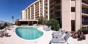 Outdoor Pool at The Dunes Condominiums