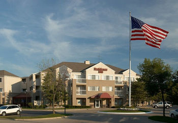 Exterior view of Residence Inn by Marriott Detroit Warren.