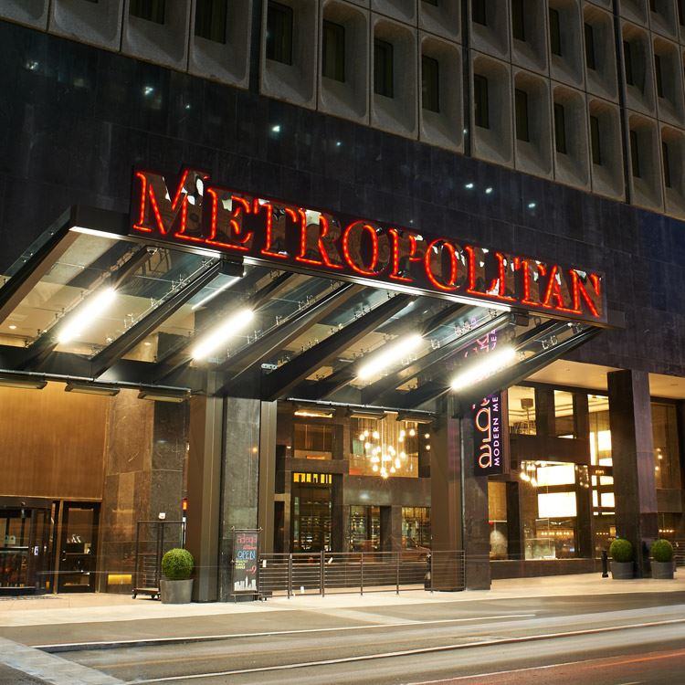 Exterior View of The Metropolitan at the 9