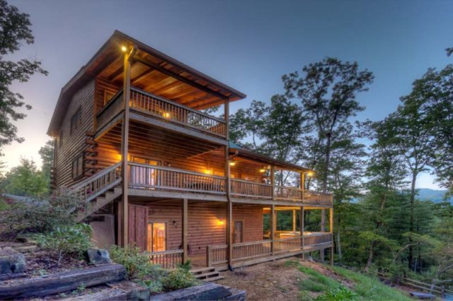 Blue sky cabin rentals ellijay ga resort reviews for Ellijay cabins for rent by owner