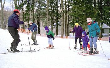 Skiing at Skytop Lodge