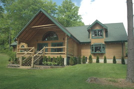 Mountain Lodge at Cabins in Hocking.