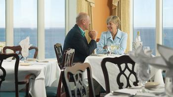 Dining room at The Cliff House Resort & Spa.
