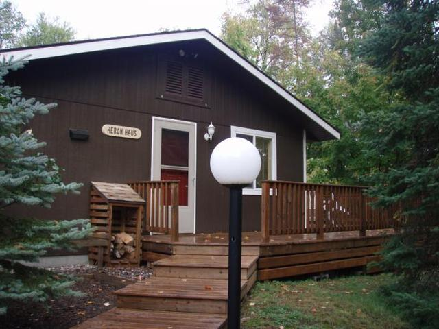 Cabin Exterior at White Birch Village Resort